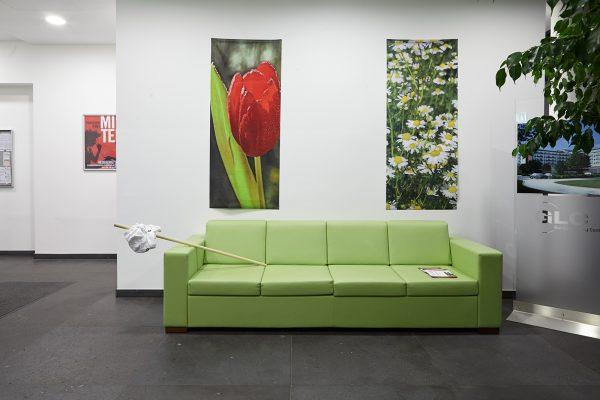 Ausstellung im Garching Living Center (GLC): Rooms of Requirement